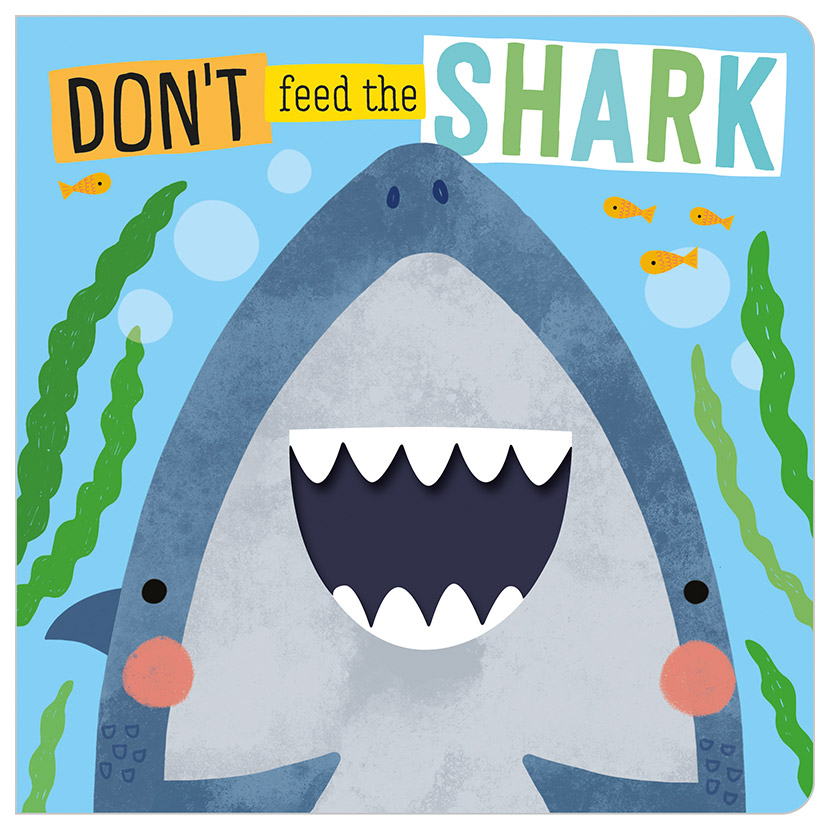 First Spread of Don't Feed the Shark (9781789474664)