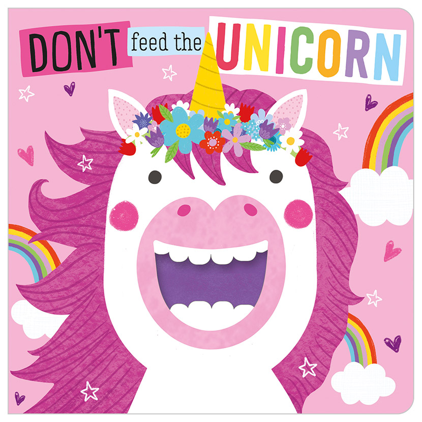 First Spread of Don't Feed the Unicorn (9781789474671)