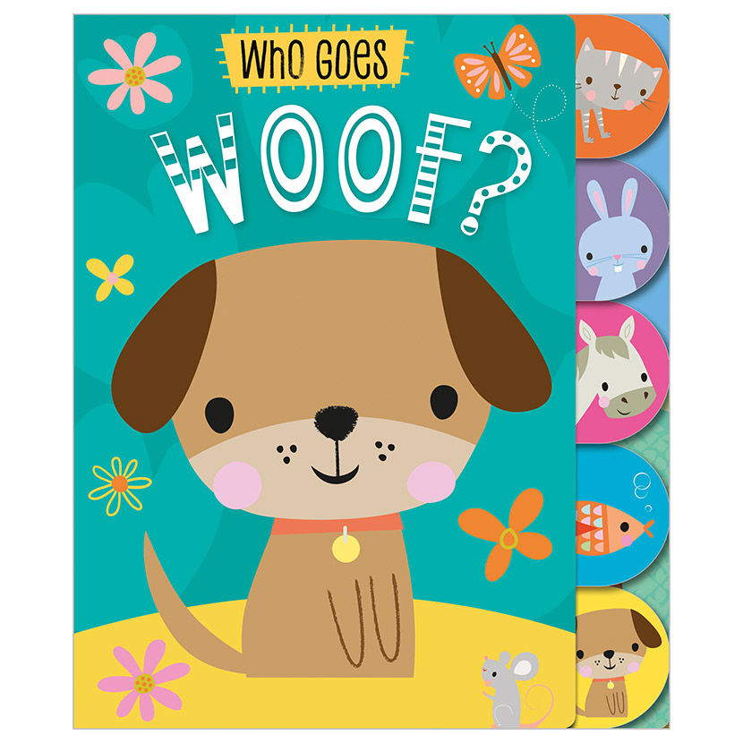 First Spread of Who Goes Woof? (9781789474824)
