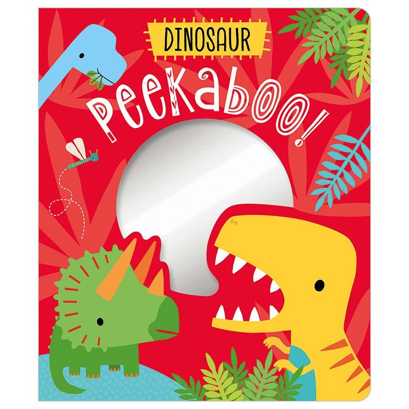 First Spread of Peekaboo! Dinosaur (9781789474848)