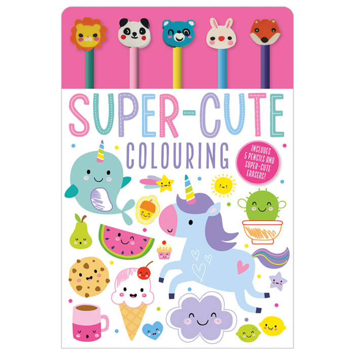 First Spread of Super-Cute Colouring (9781789474947)