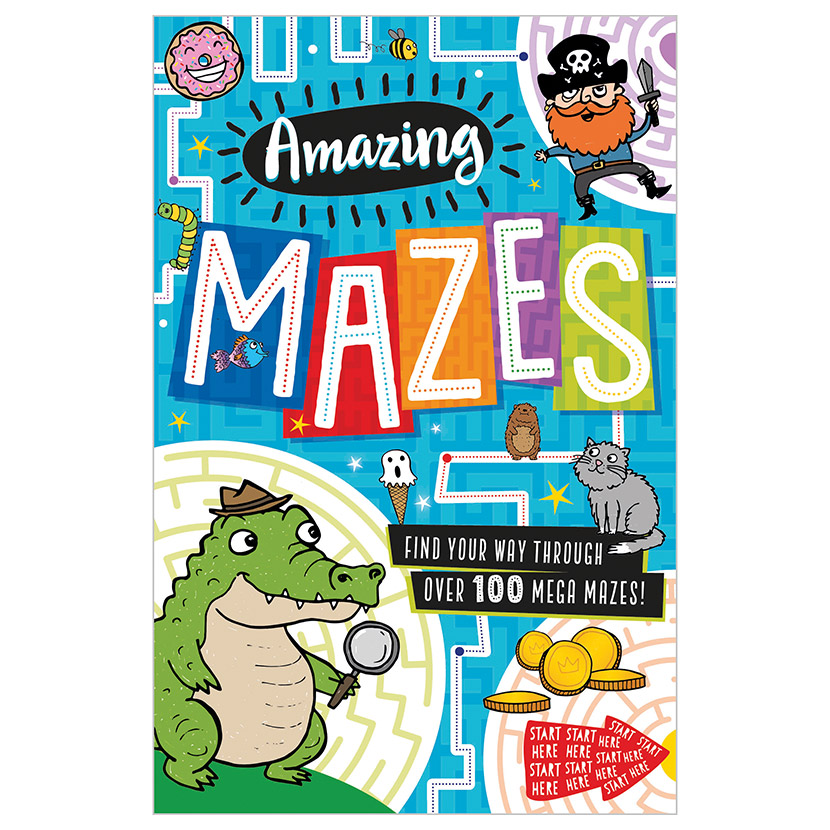 First Spread of Amazing Mazes (9781789474985)