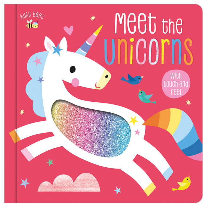 First Spread of Busy Bees Meet the Unicorns (9781789475685)