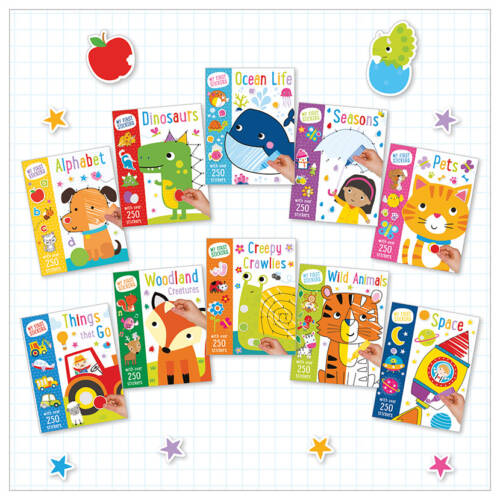 First Spread of My First Stickers 10 Set Assortment (9781789475524)