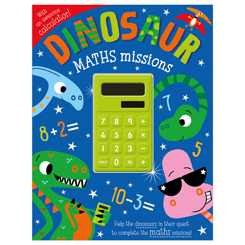 First Spread of Dinosaur Maths Missions (9781789477863)