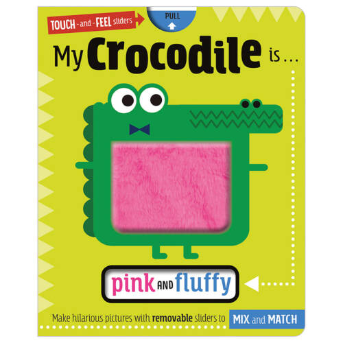 First Spread of My Crocodile is … Pink and Fluffy (9781789477283)