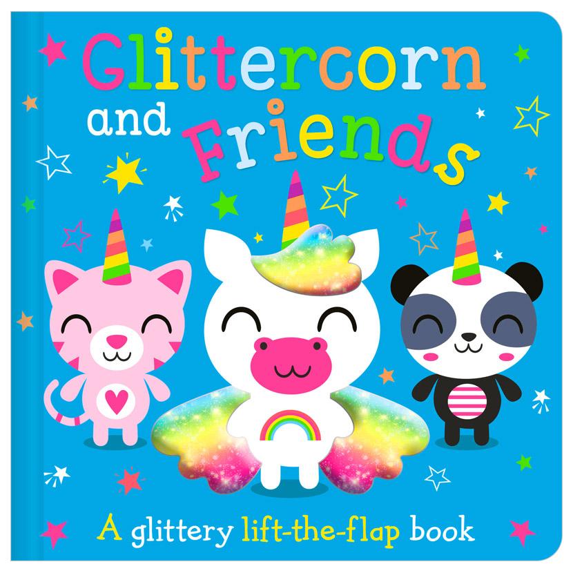 First Spread of Glittercorn and Friends (9781800581395)