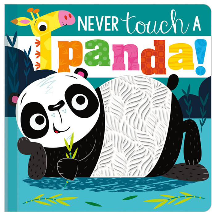 First Spread of Never Touch a Panda! (9781789477467)