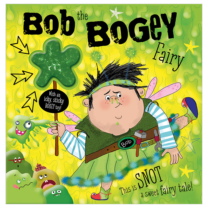 First Spread of Bob The Bogey Fairy (9781789477740)