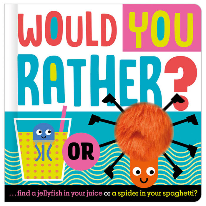 First Spread of Would You Rather (9781789477306)