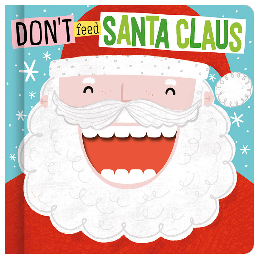 First Spread of Don't Feed Santa Claus (9781789479218)