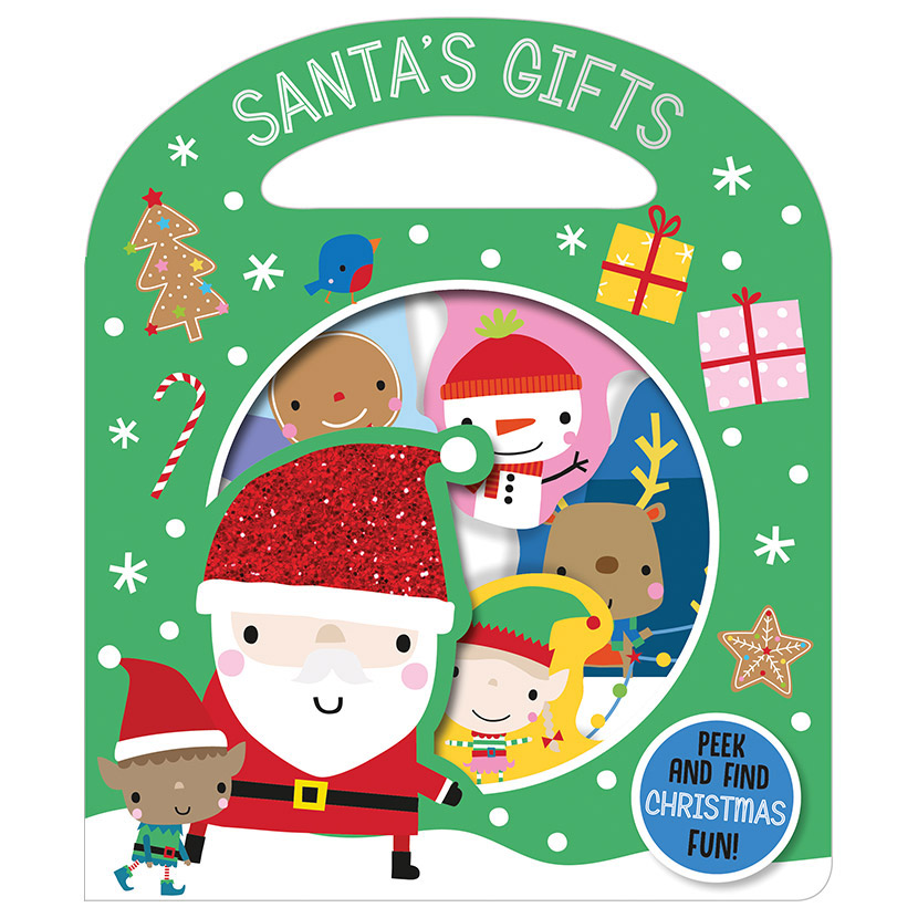 First Spread of Santa's Gifts (9781789477689)