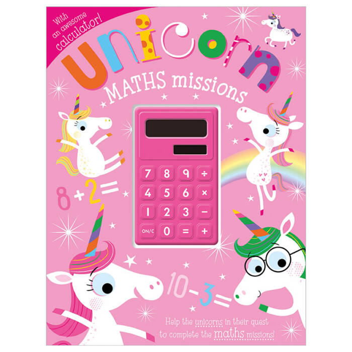 First Spread of Unicorn Maths Missions (9781789477887)