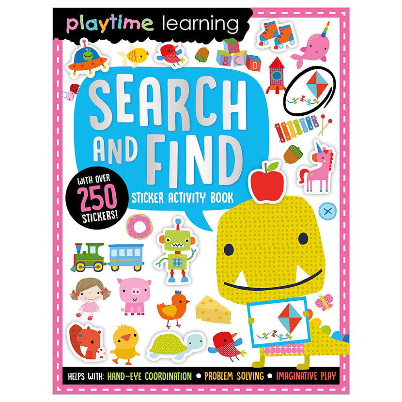 First Spread of Playtime Learning Search and Find (9781789478006)