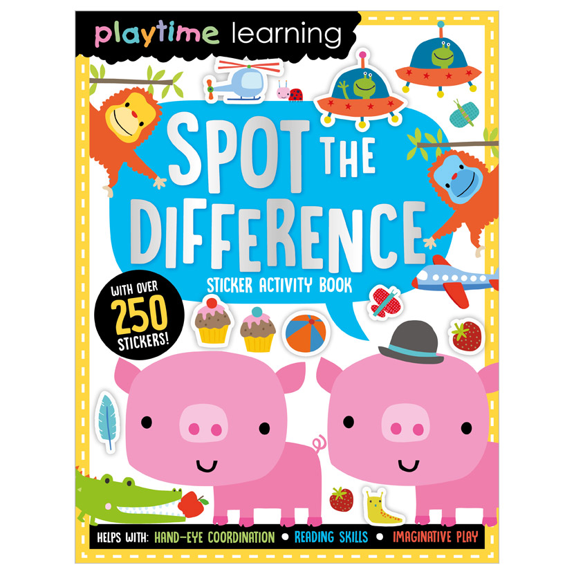 First Spread of Playtime Learning Spot the Difference (9781789478020)