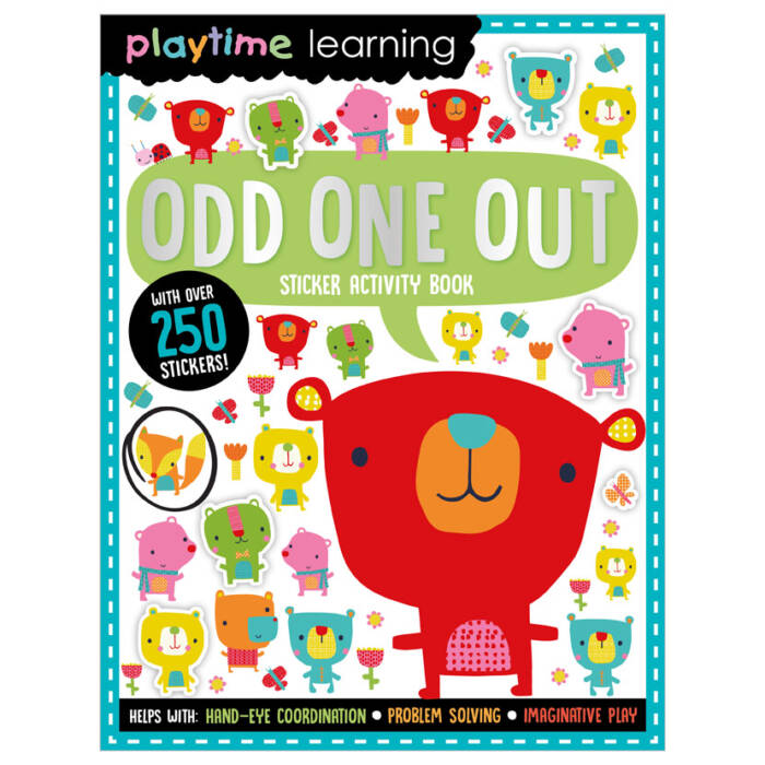 First Spread of Playtime Learning Odd One Out (9781789478037)