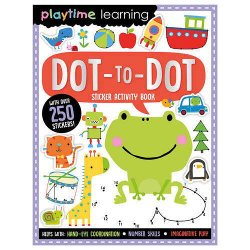 First Spread of Playtime Learning Dot-to-Dot (9781789478044)