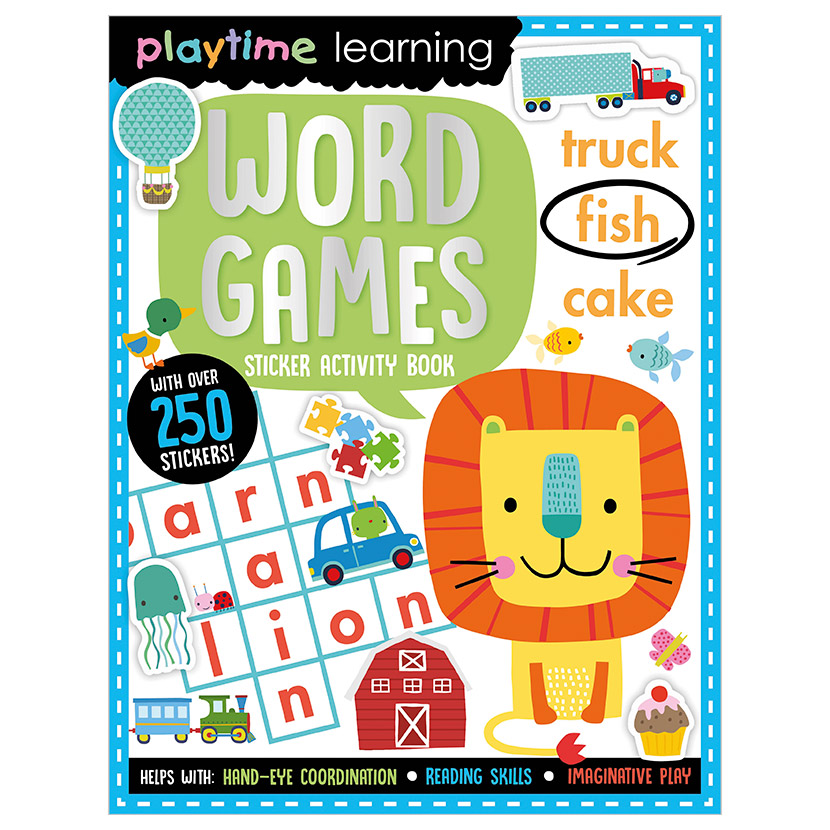 First Spread of Playtime Learning Word Games (9781789478051)