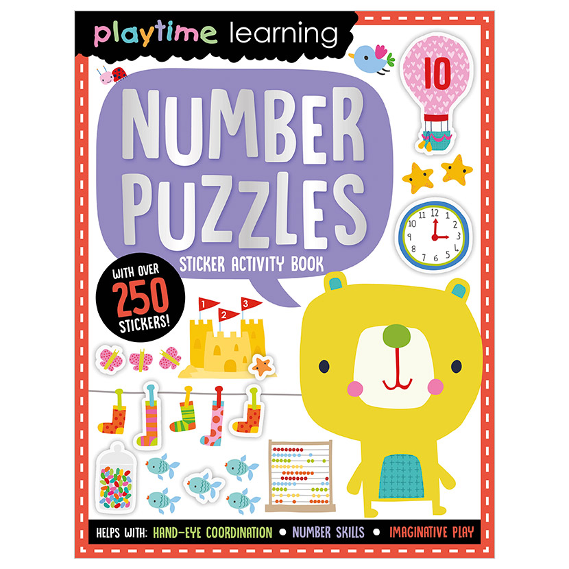 First Spread of Playtime Learning Number Puzzles (9781789478068)