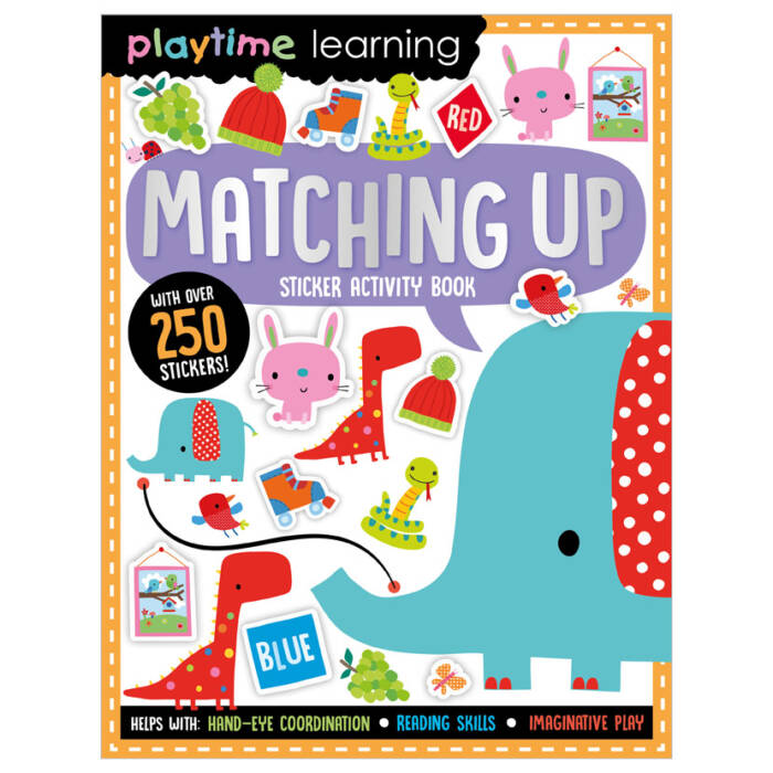 First Spread of Playtime Learning Matching Up (9781789478075)