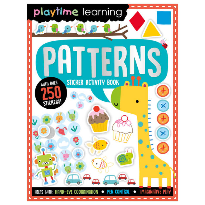 First Spread of Playtime Learning Patterns (9781789478099)