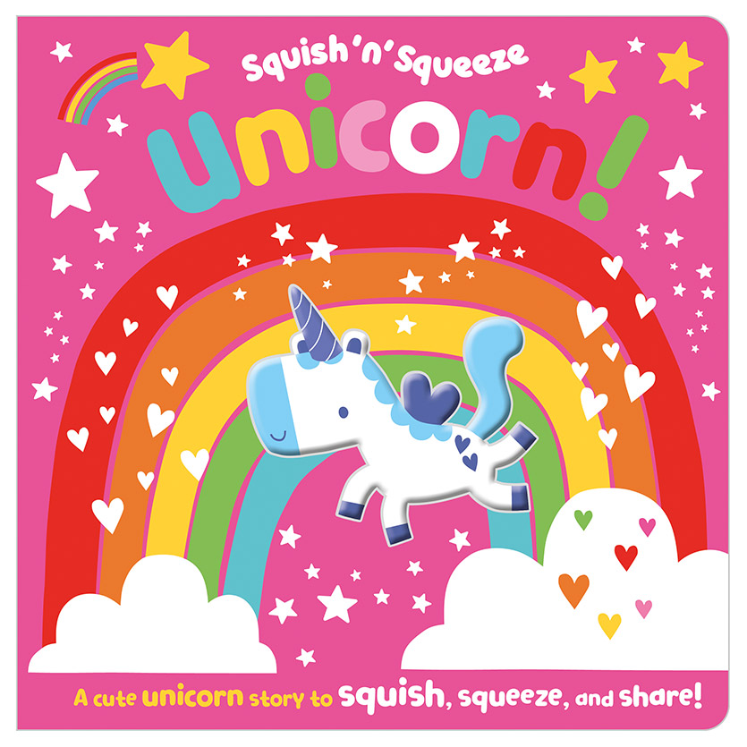 First Spread of Squish 'n' Squeeze Unicorn! (9781789478532)