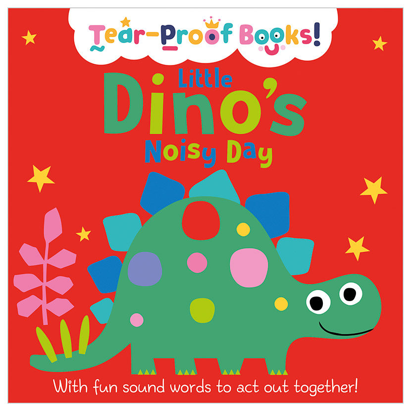 First Spread of Little Dino's Noisy Day (9781789478518)