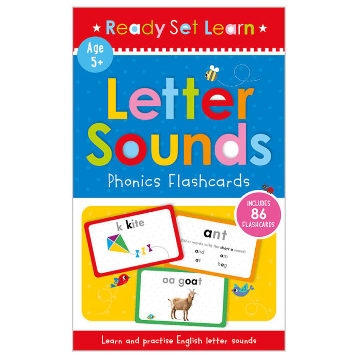 First Spread of Letter Sounds Phonics Flashcards (9781800580312)