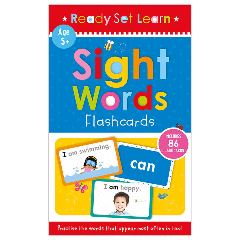 First Spread of Sight Words Flashcards (9781800580336)