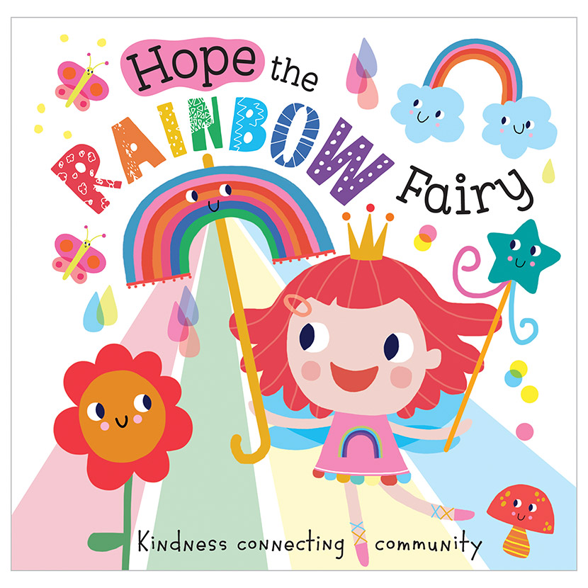 First Spread of Hope the Rainbow Fairy (9781800580138)