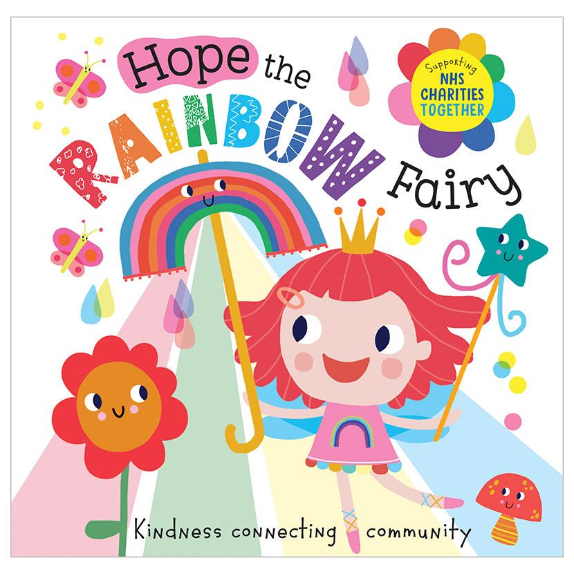 First Spread of Hope the Rainbow Fairy (9781800580213)