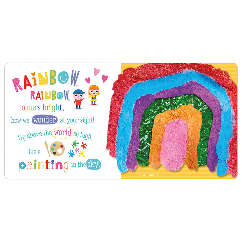 First Spread of Rainbow