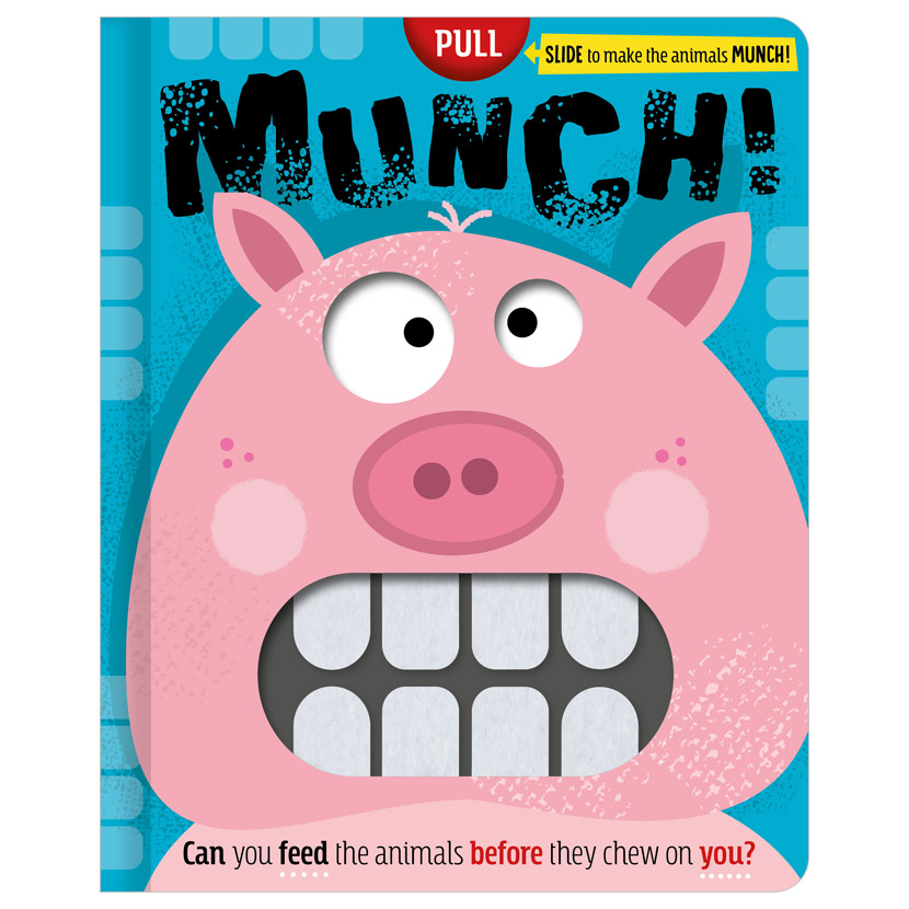 First Spread of MUNCH! (9781800583092)