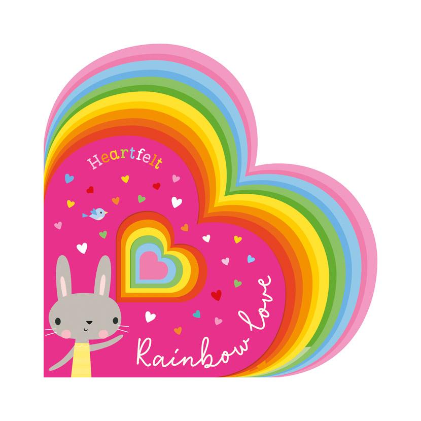 First Spread of Heartfelt Rainbow Love (9781800581371)