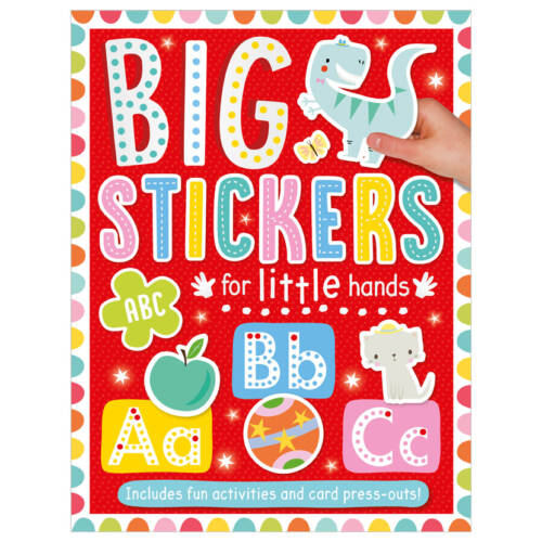 First Spread of Big Stickers for Little Hands ABC (9781800581791)