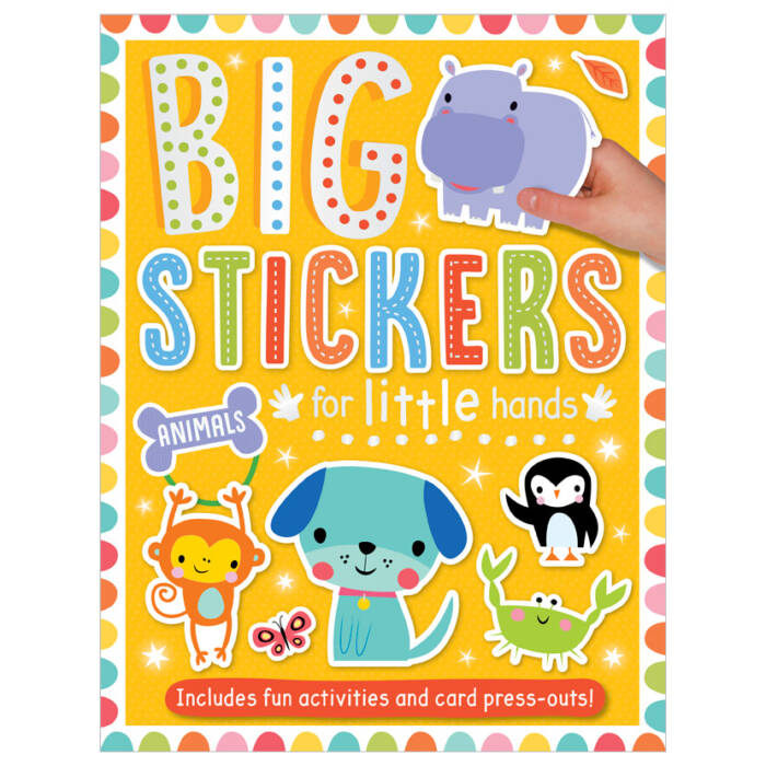 First Spread of Big Stickers for Little Hands Animals (9781800581906)