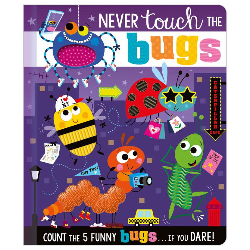 First Spread of Never Touch the Bugs (9781800581876)