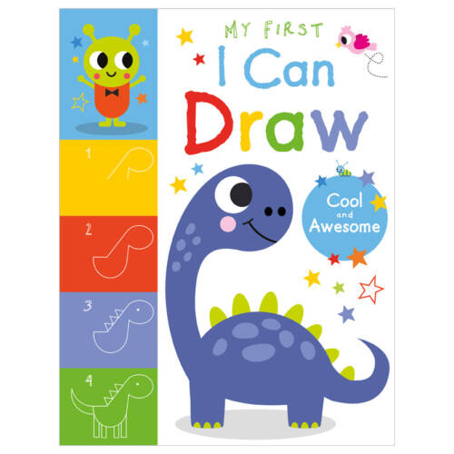 First Spread of My First I Can Draw Cool and Awesome (9781800581937)