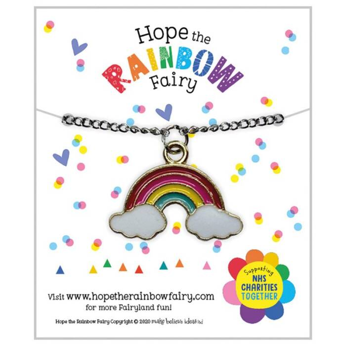 First Spread of Hope the Rainbow Fairy Necklace (5060236481931)