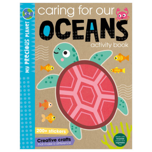 First Spread of My Precious Planet Caring for our oceans activity book (9781800584457)