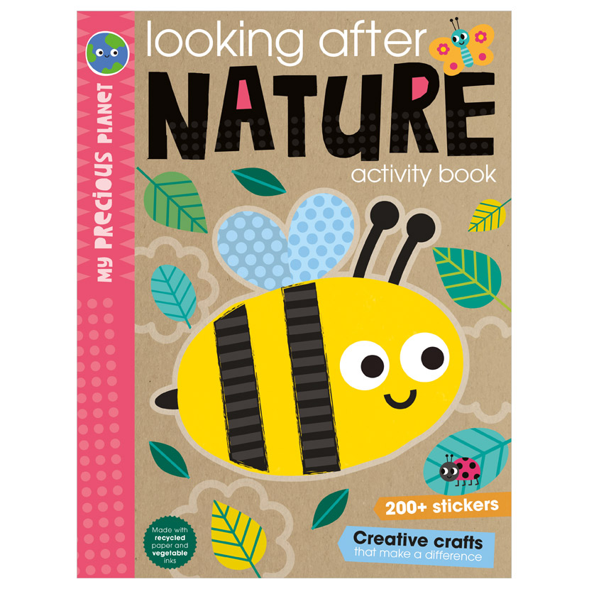 First Spread of My Precious Planet Looking after nature activity book (9781800584464)