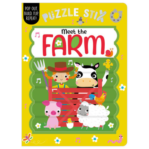First Spread of Puzzle Stix: Meet the Farm (9781800582538)