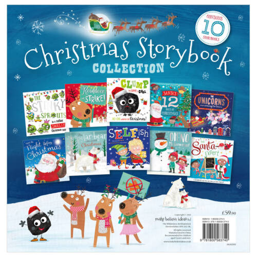 First Spread of Christmas Story Book 10-Set Ziplock (9781800583740)